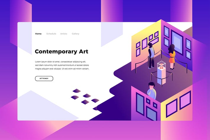 Cover Image For Contemporary Art - Banner Page