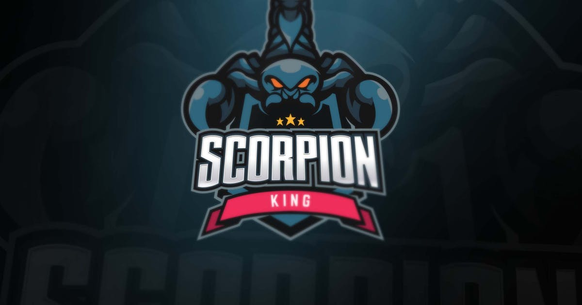Download Scorpion Sport and Esports Logos by ovozdigital