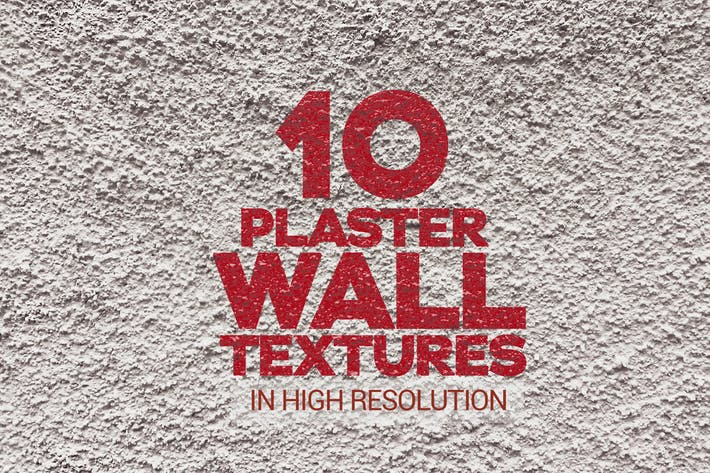 Thumbnail for Plaster Wall Textures x10