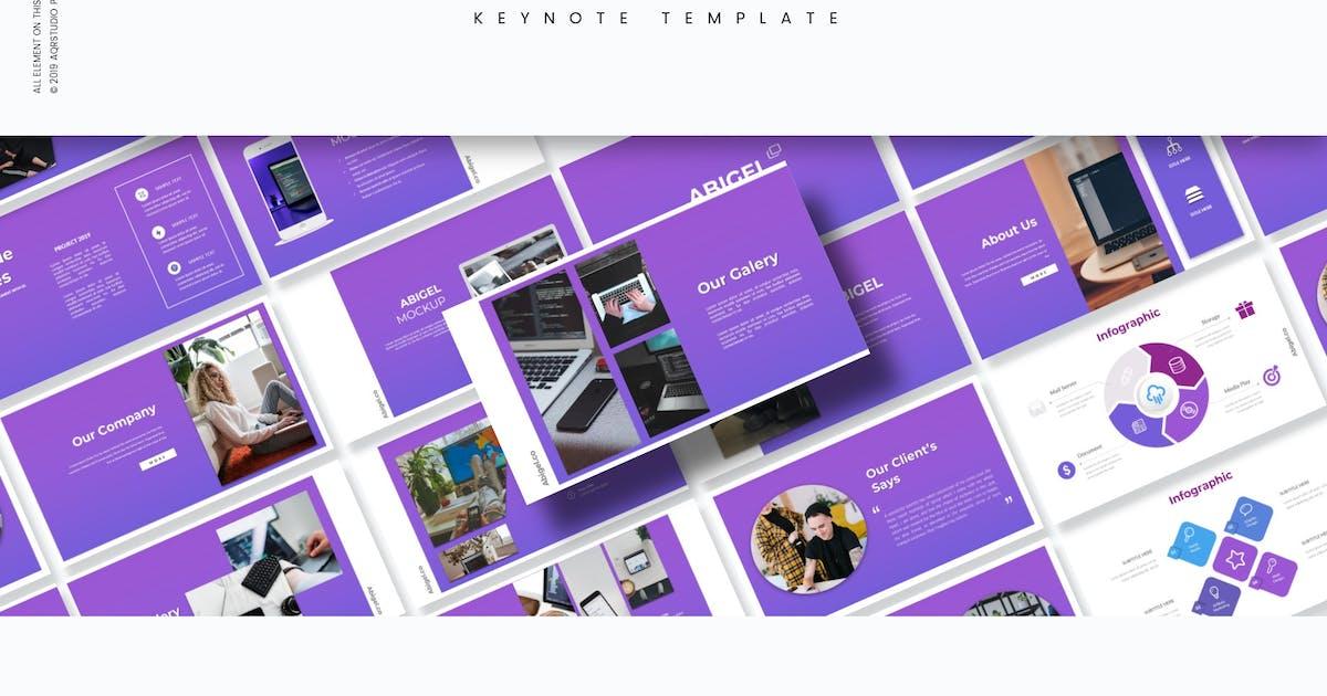 Download Abigel - Keynote Template by aqrstudio