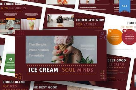 Ice Cream Soul Minds | Keynote Template
