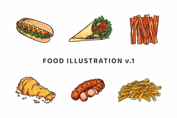 Thumbnail for Food Illustration V.1