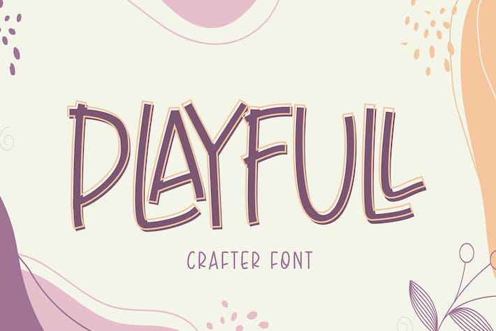 Thumbnail for Playfull Font