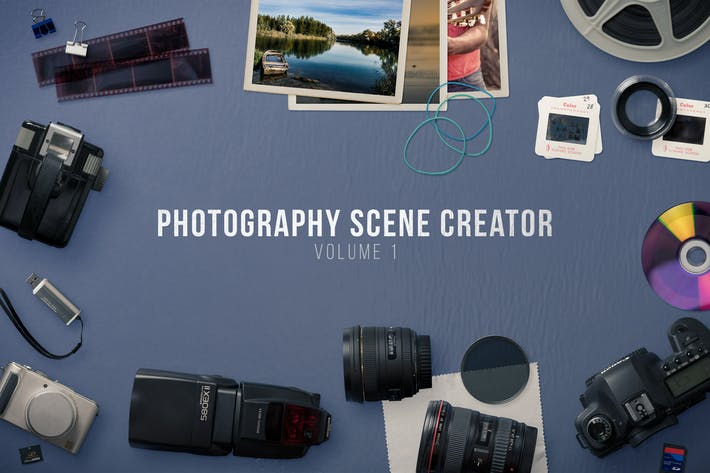 Thumbnail for Photography Scene Creator Volume 1