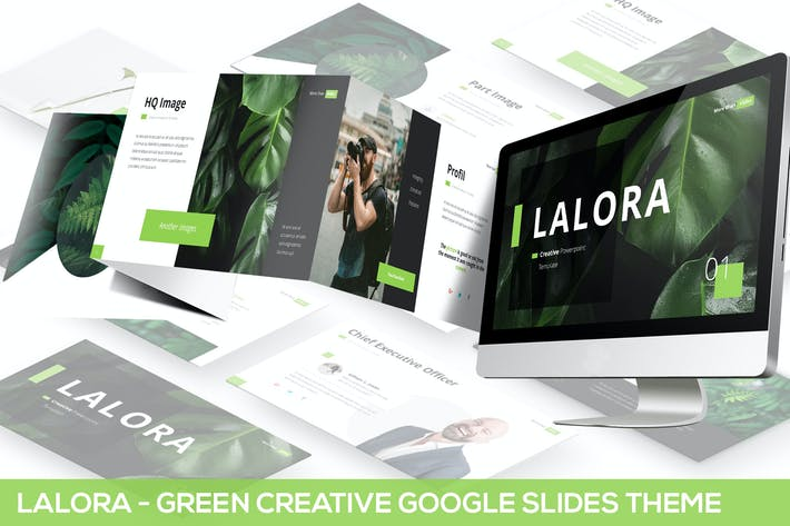 Thumbnail for Lalora - Green Business Themes