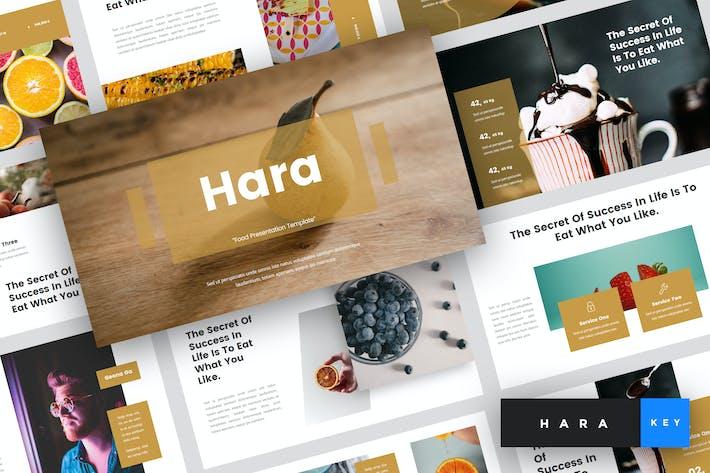 Thumbnail for Hara - Food Keynote Template
