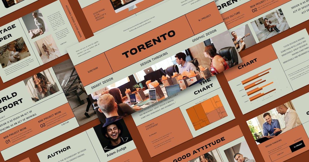 Download Torento Keynote Template by axelartstudio