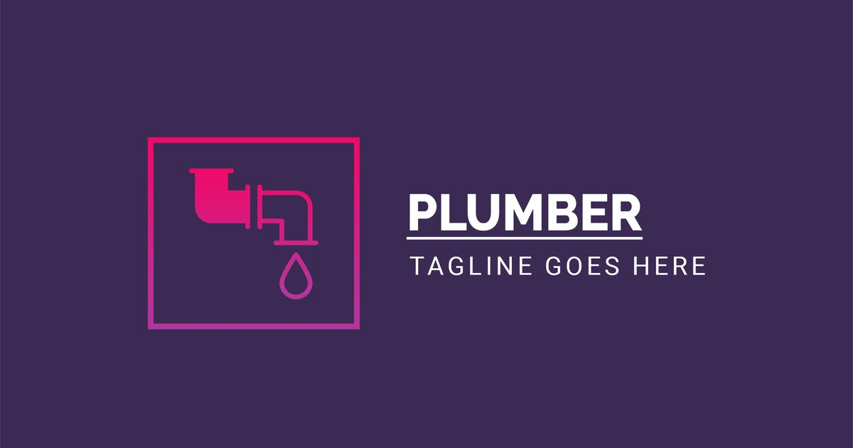 Download Plumber - Creative logo Template by PremiumLayers