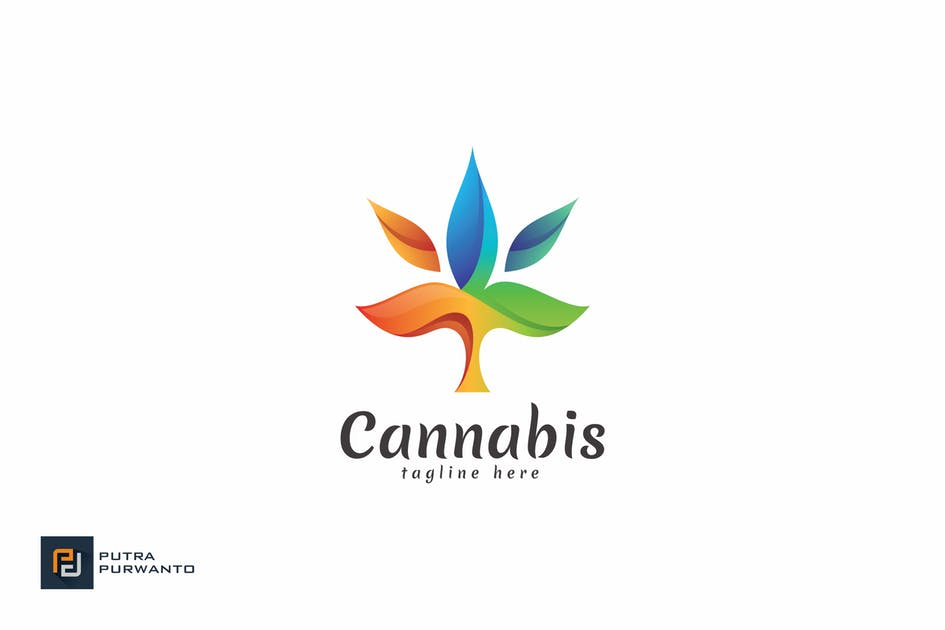 Download Cannabis - Logo Template by putra_purwanto