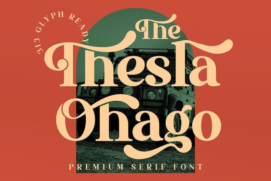 El Thesla Ohago Con serifa LS