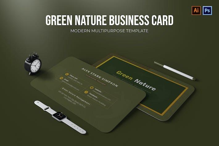 Thumbnail for Green Nature - Carte de visite