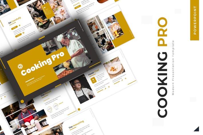 Cooking Pro - Шаблон Powerpoint