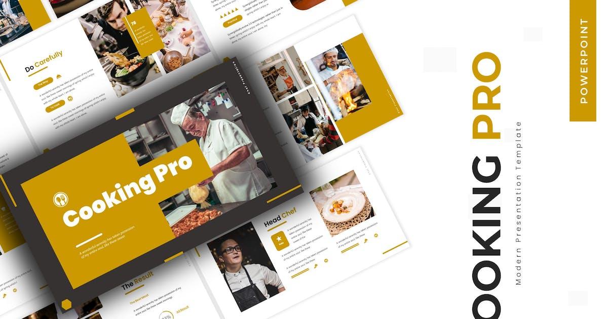Download Cooking Pro - Powerpoint Template by karkunstudio