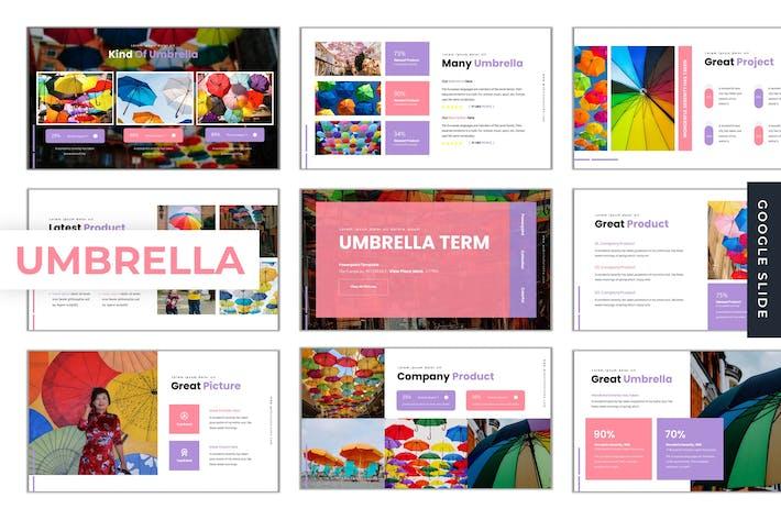 Thumbnail for Umbrella Term - Google Slides Template