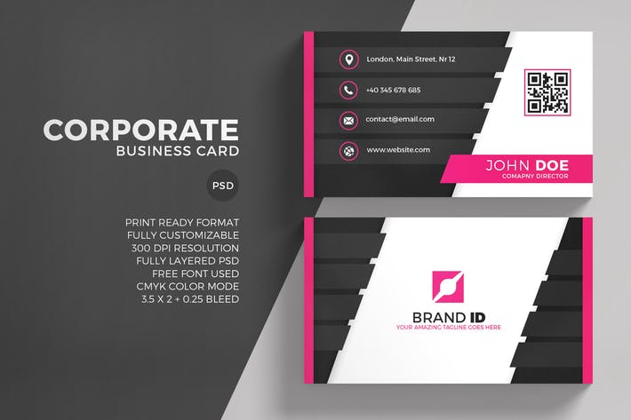 Thumbnail for Corporate Business Card