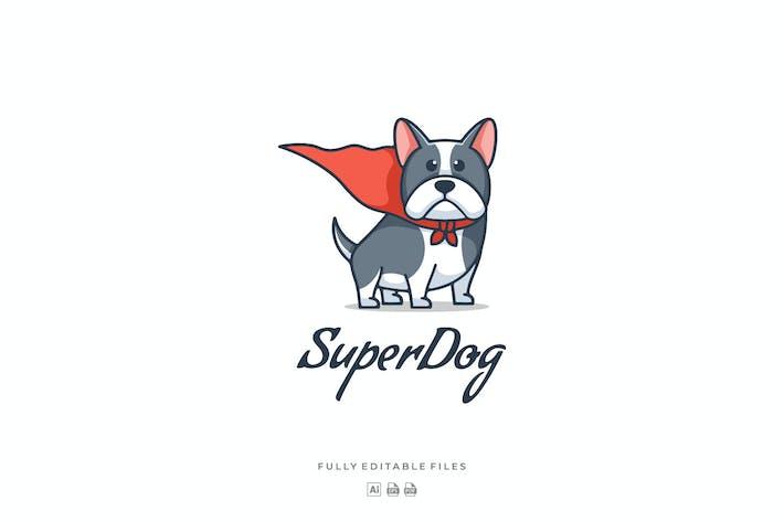 Simple Bulldog  Mascot Cartoon Logo