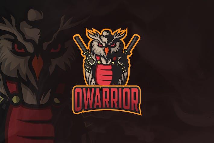 Thumbnail for Owarrior - Mascot & Esport Logo