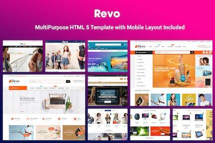 Revo - Elegant MultiPurpose HTML 5 Template