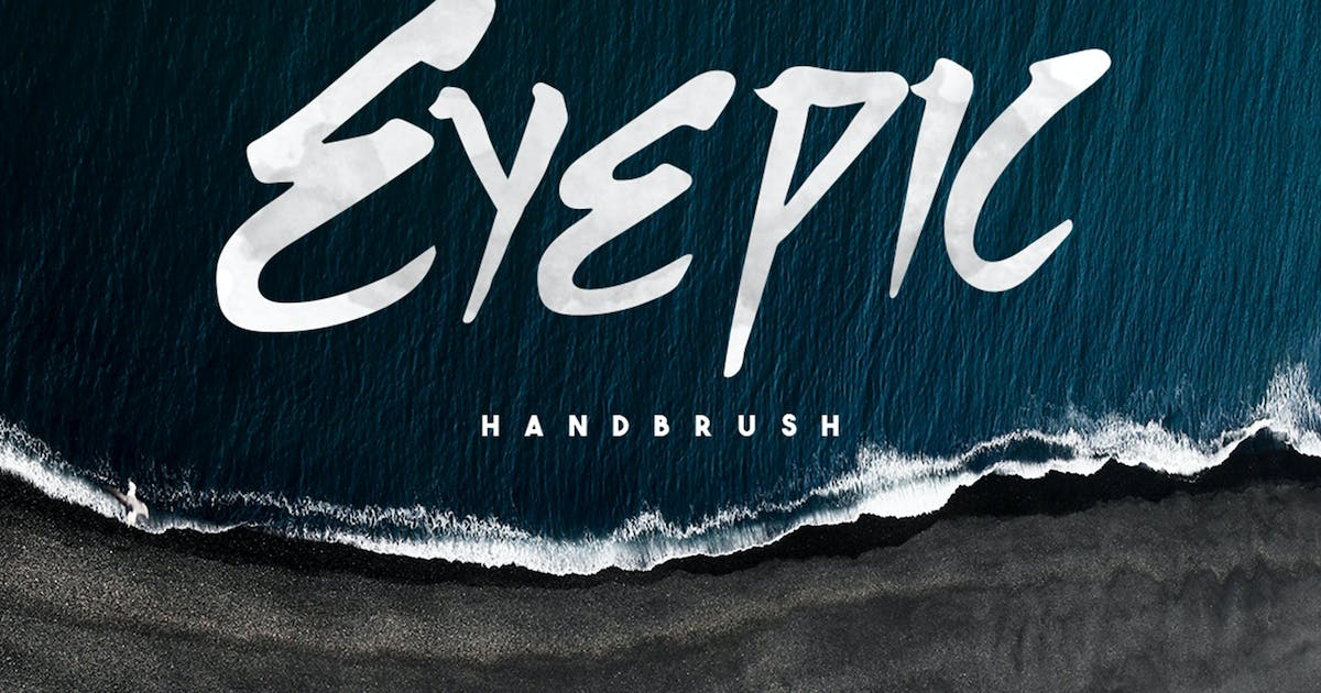 Download Eyepic Typeface by giemons