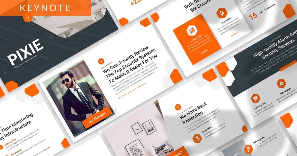 Download Pixie - Business Keynote Template by designesto