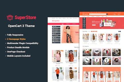 SuperStore - Responsivo OpenCart 3 Tema