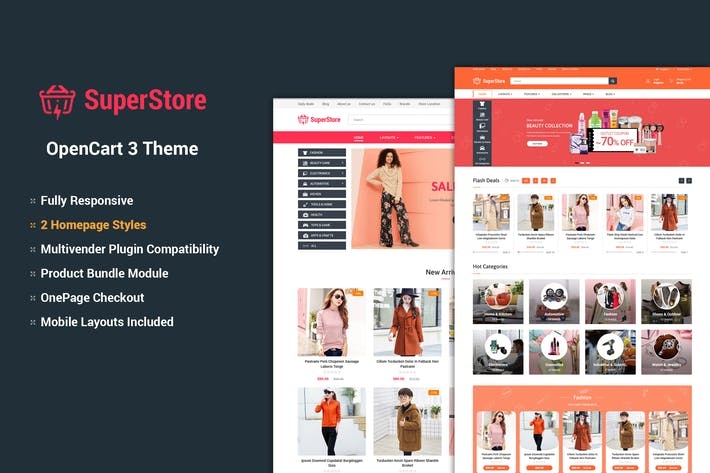Thumbnail for SuperStore - Responsive OpenCart 3 Theme