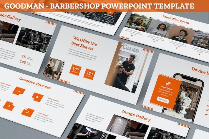 Goodman - Barbershop Powerpoint Template
