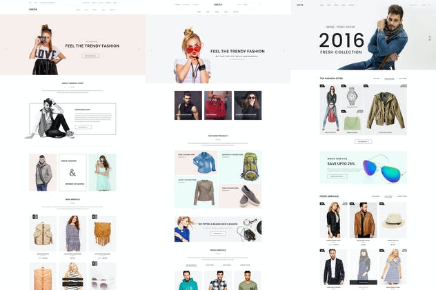 Volta - Minimal Shopping HTML5 Template