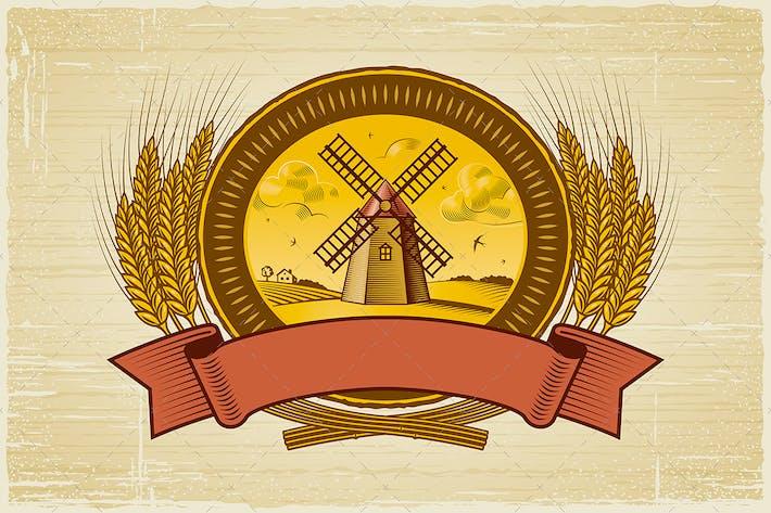 Thumbnail for Etiqueta de cosecha de cereales
