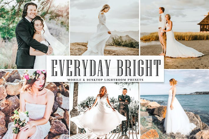 Thumbnail for Everyday Bright Mobile & Desktop Lightroom Presets