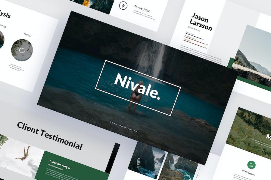 Nivale - Travel Google Slides Template