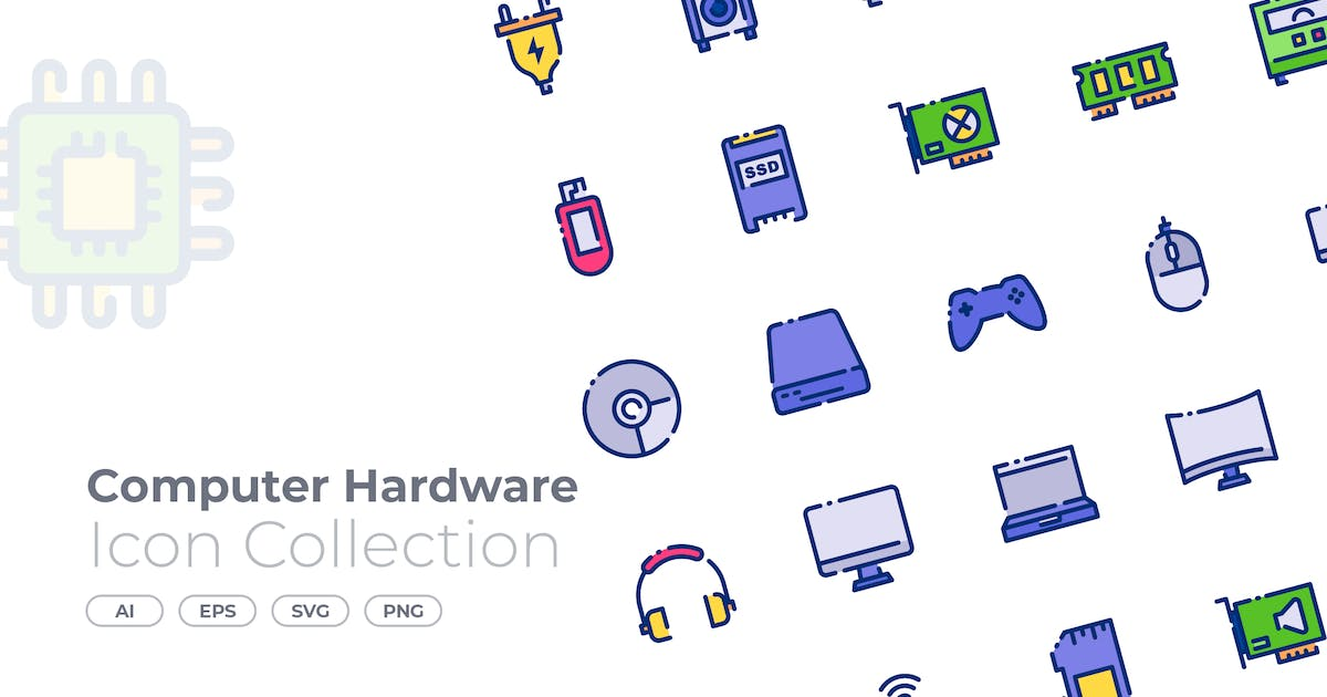 Download Computer Hardware Filled Icon by GoodWare_Std