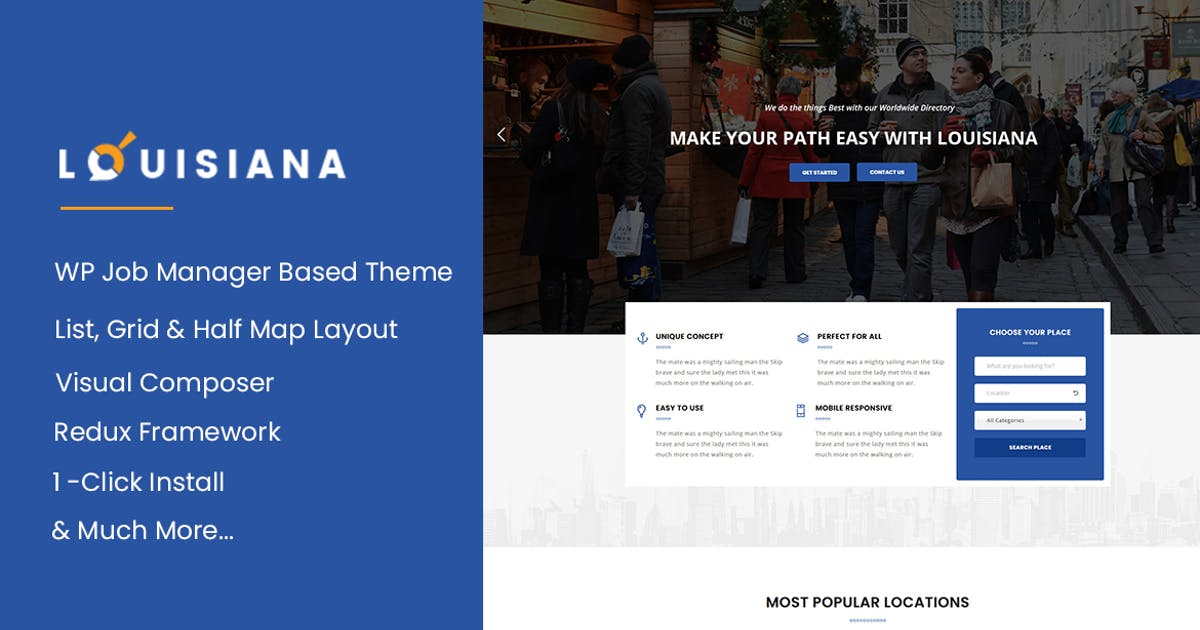 Download Louisiana - Listing | Directory WordPress Theme by ApusTheme