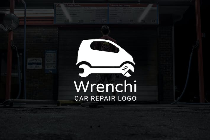 Thumbnail for Wrenchi : Car Repair or Auto Repair Logo