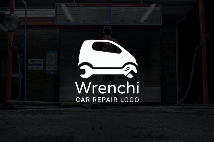 Cover Image For Wrenchi : Car Repair or Auto Repair Logo