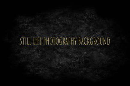 Black Backdrop Still Life Photography