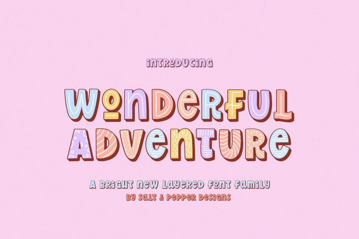 Wonderful Adventure Font Family