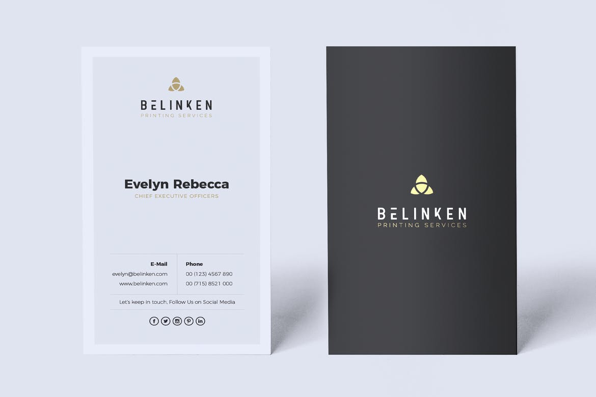 Minimalist Business Card Vol. 39