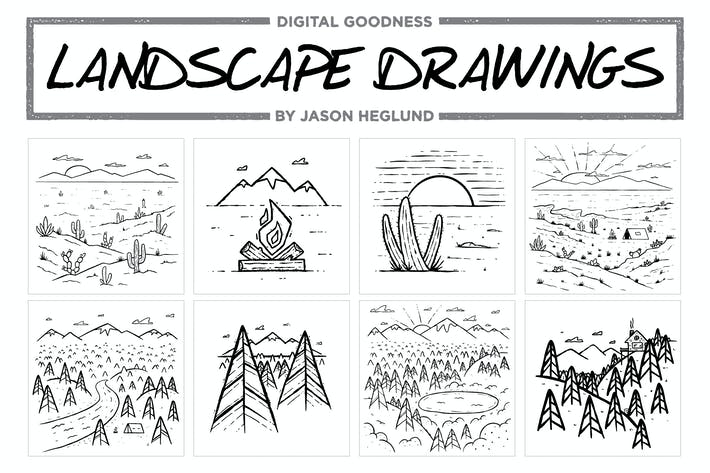 Thumbnail for Landscape Drawings