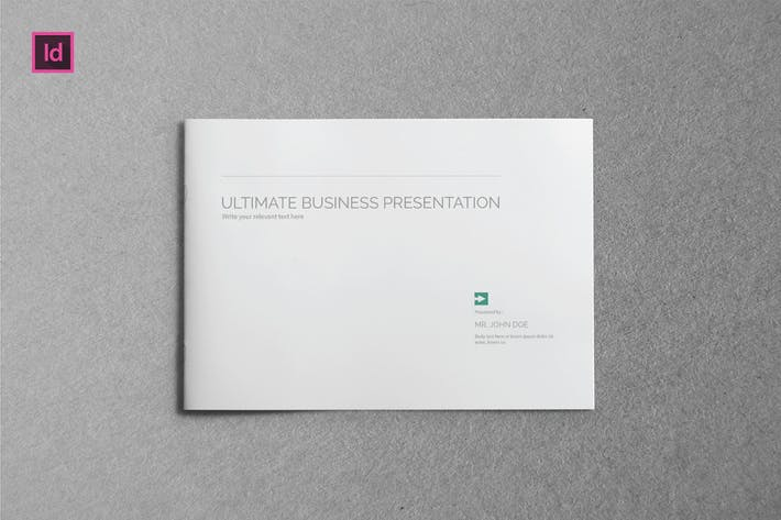 Thumbnail for ULTIMATE - Brochure A5 Landscape