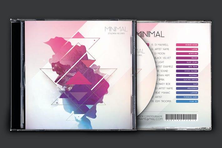 Thumbnail for Illustration minimale de la pochette de CD