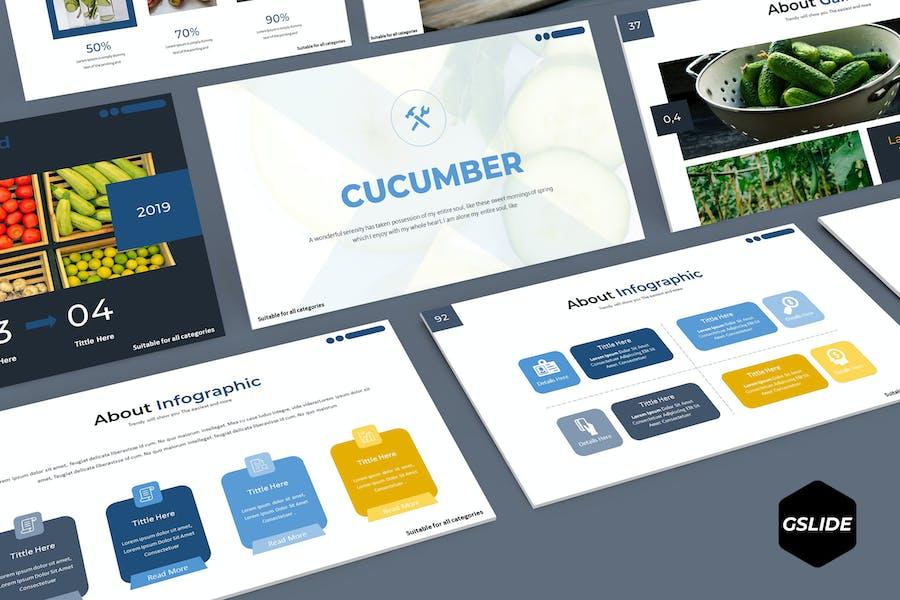 Cucumber - Google Slides Template