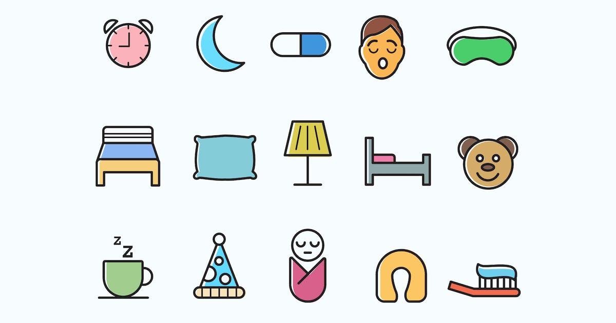Download 15 Sleep Icons by creativevip
