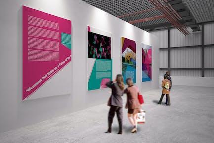 Exhibition Mockup [vol 4]