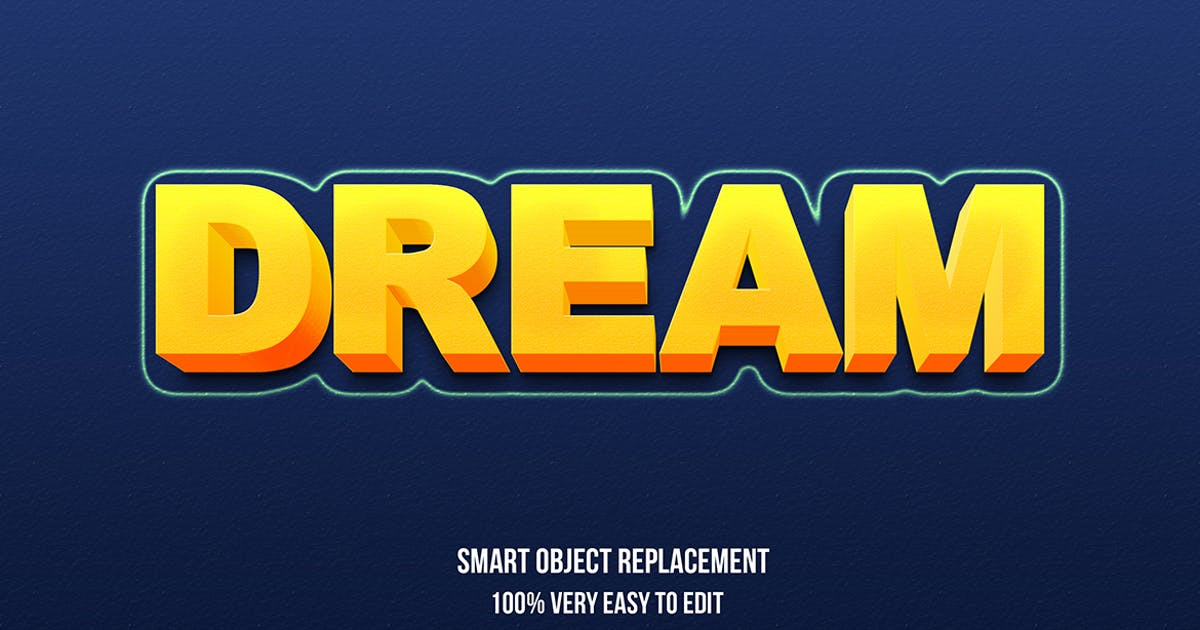 Download Dream text effect by wudelmbois