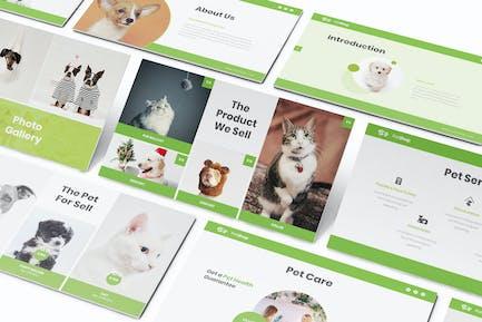 Pet Shop Keynote Presentation Template