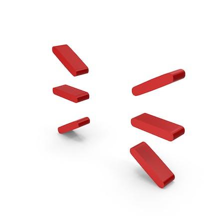 """Symbol """"Rote Linien"""""""