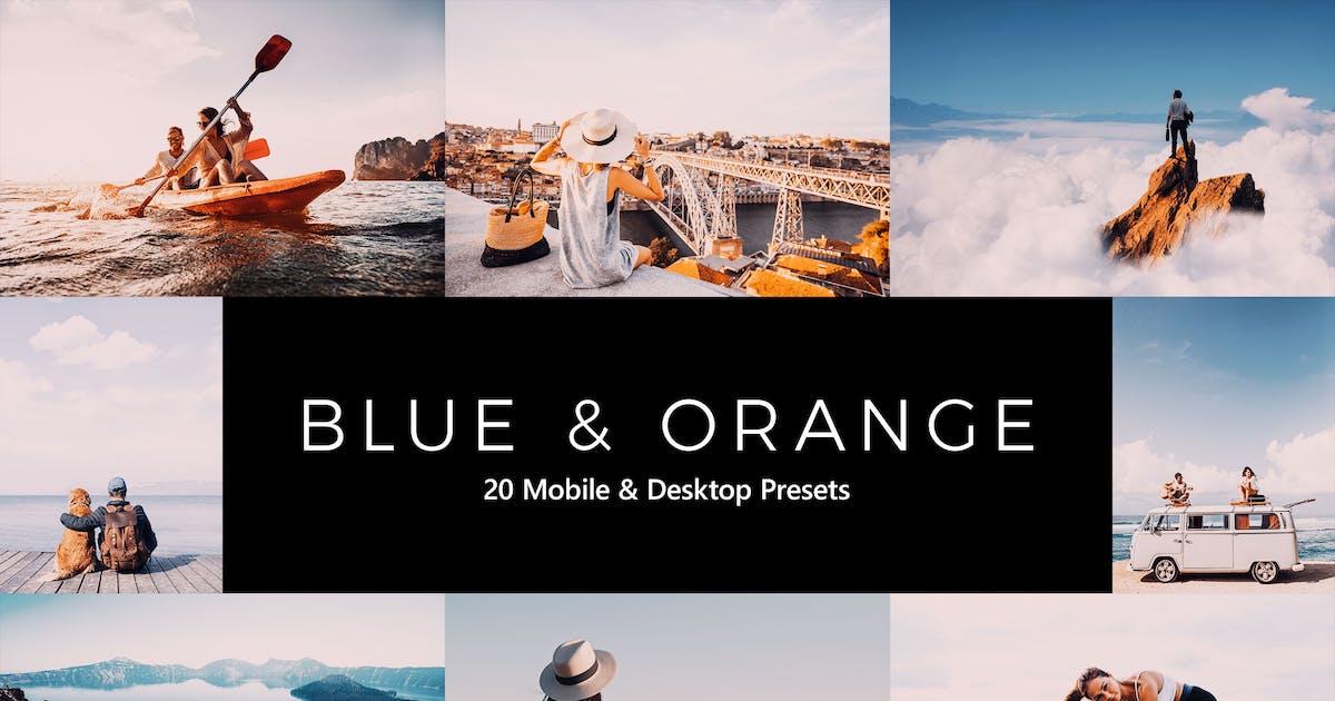 Download 20 Blue and Orange Lightroom Presets & LUTs by sparklestock