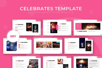 Celebrates - Keynote Template