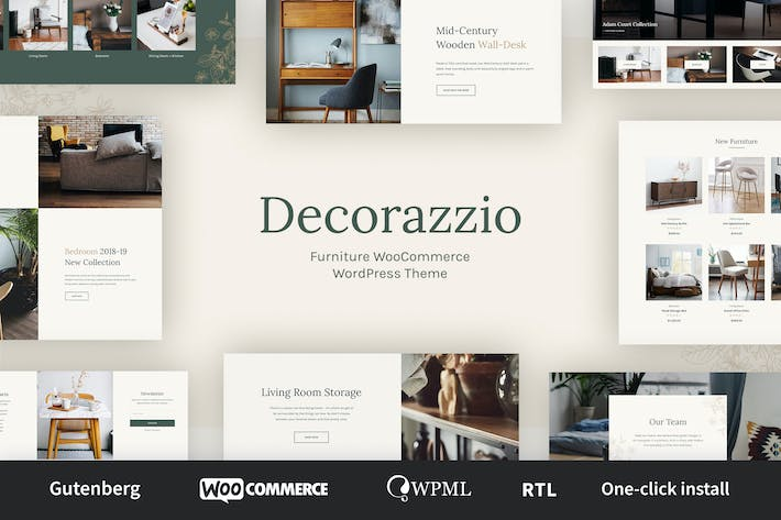 Thumbnail for Decorazzio - Interior Design|Furniture Store WP